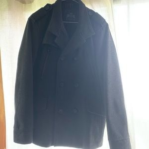Men's Express double breasted coat size Medium